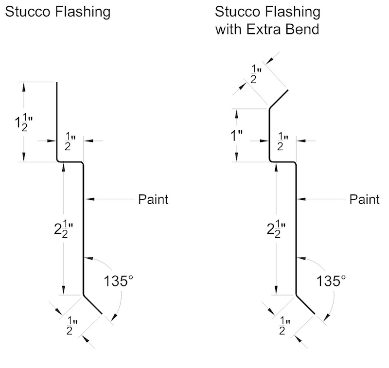 Stucco Flashing Semco Southeastern Metals